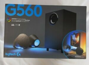 Logitech G560 Lightsync PC Gaming Speakers with Game Driven RGB Lighting