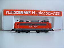 Fleischmann N 7331 E-Lok CARGO BR139 262-0 DB Ep.V OVP N283
