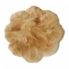 Lambskin Rug Flower Coburger Long Wool Real Sheepskin fur Carpet