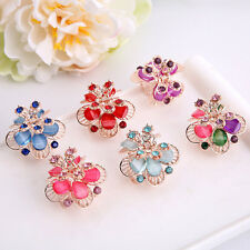 Multicolor Women's Resin Mini Butterfly Hair Claw Hair Clips Hair Accessories