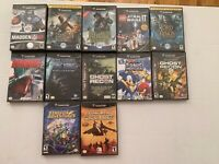 NINTENDO GAMECUBE PICK AND CHOOSE LOT, TESTED, MOST CIB