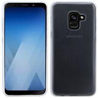 Gel Silikonschutz Hülle Transparent für SAMSUNG GALAXY A8 2018 PLUS (A730F)@COFI