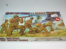 Airfix 1/32 Scale Multipose Military Figures WWII US MARINES Sealed Type 4 Box
