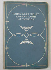 Author Correspondence Robert Louis Stevenson Some Letters Horace Townsend 1902