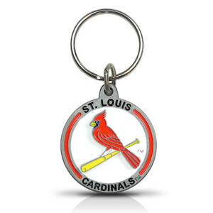MLB St. Louis Cardinals Metal Key Chain Key-ring Keychain by The Hillman Group