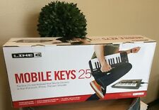 NEW Line 6 Mobile Keys 25 PC Mac IOS Portable USB MIDI Controller Keyboard