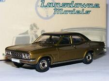 Lansdowne Models LDM32 1972 Vauxhall Ventora 3300 Gold/Black 1/43