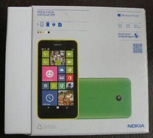 Nokia Lumia 630 RM-978 Unlocked 8GB SmartphoneDual Sim Windows 8.1