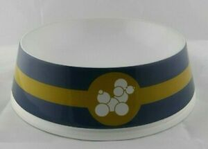 Jonathan Adler Happy Chic Ceramic Large Dog Water Food Pet Bowl with Poodle