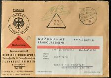 Germania 1964 nachnahme Remboursement, contanti alla consegna Copertura #C55936