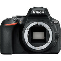 Nikon D5600 24 MP DX-Format Full HD 1080p Digital SLR Camera Body - Black