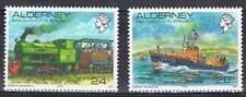 Alderney postfris 1993 MNH 59-60 - Vergezichten / Schepen / Ship / Train