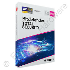 Bitdefender Total Security & VPN Multi Device 2019 / 2020 3 Users 1 Year Licence