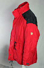 Fjällräven Vintage Arctic Paka Jacket GORE-TEX Red Men's M Camping Hiking VGC!