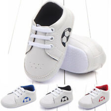 Child Infant Baby Boy Girl Sole Crib Shoes Anti-slip Prewalkers Lace-Up Sneakers