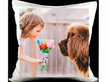Personalised Cushion Cover Pillow Case Printed Photo Custom Made Print Cover New