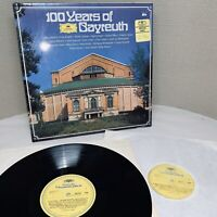 DG  2721 115 WAGNER VARIOUS ARTISTS 100 YEARS OF BAYREUTH 2-LP (1976) M074