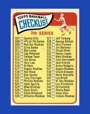 1965 Topps Set Break #508 Checklist 7 NR-MINT *GMCARDS*
