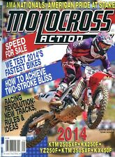 Motocross Action Magazine September 2013 KTM 240SXF, KX250F, YZ250G, KTM 350SXF