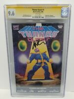 Thanos Quest #1 CGC SS 9.6 NM+SIGNED BY JIM STARLIN Marvel Comics 1st Print