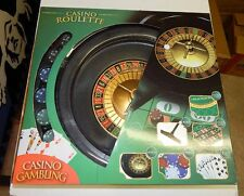 Casino Roulette Wheel Set