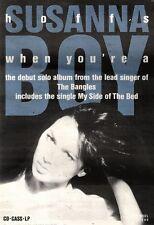 30/3/91 Pgn30 Advert: Susanna Hoffs Debut Solo Album when Youre A Boy 10x7