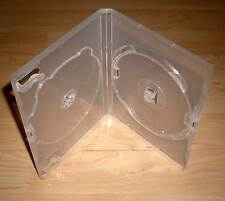 10 DVD Hüllen Case 2fach 2er transparent durchsichtig Doppelhülle 2 DVDs