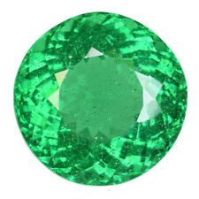 21.810CTS AMAZING LUSTER GREEN NATURAL ( MOLDAVITE) NATURAL GLASS ROUND