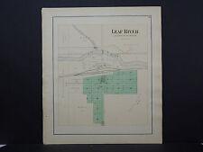 Illinois, Ogle County Map, 1893 Leaf River