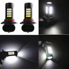 Pair 21W DC12V/24V 900LM Car fog light Bulbs Replacement 2835 LED Type 9006 HB4