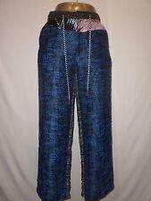 Diego Binetti Love Womans Le Pommettes Multi Color Pants Size 2