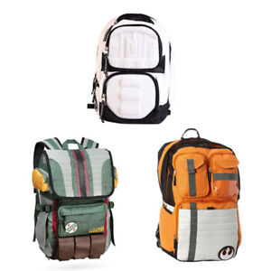 Star Wars Backpack Boba Fett Costume Travel Rucksack Outdoor School Laptop Bag