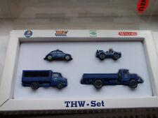 Wiking THW - Set 4 verschiedene PKW + LKW Modelle Art. Nr. 99032 1:87 mit  OVP