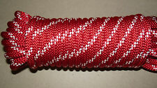 """NEW 1/2"""" x 66' Kernmantle Static Line, Climbing Rope"""
