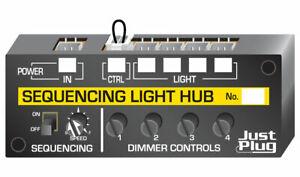 Woodland Scenics ~ New Just Plug Lighting System ~ Sequencing Light Hub ~ JP5680