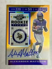 2019 Panini Contenders Optic Rookie Ticket Auto Variation ( Pick Your Card )