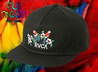 New RVCA RVCA Parrots Unstructured Mens Snapback Cap Hat