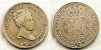 SPAIN-Isabel II. 4 Reales 1836. BARCELONA. MBC/VF. plata 5,6 g. RARA Y ESCASA