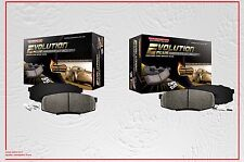 Power Stop Ceramic Front & Rear Brake Pads with Hardware Fits Nissan Titan 04-05