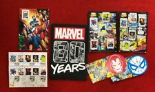 Marvel Limited Edition 80 Years Anniversary Stamp Collection Set