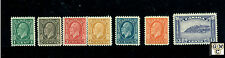 Canada #195-201 (7)  M.N.H.  F/VF  Stamps Catalog value $200