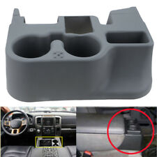 For Dodge Ram 1500/ 2500/3500 2003-12 Center Console Cup Holder Storage Gray