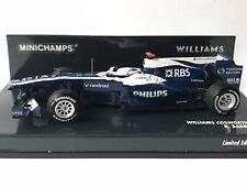 Minichamps 417 100009 Williams Cosworth FW32 R.Barrichello Formula 1 2010 1:43