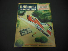 Air Trails Magazine Hobbies for Young Men August 1955 Para-Load Glider Radio