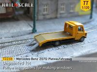 Railnscale T2238 TT LKW Mercedes 207D Plateaufahrzeug