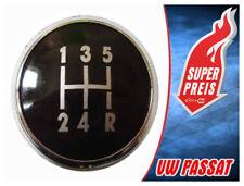 SCHALTKNOPF SCHALTKNAUF KAPPE EMBLEM VW PASSAT B5 B5 FL (96-05) 5 GANG **NEU**