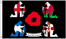 Lest We Forget Respect Polyester Flag - Choice of Sizes