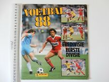 NETHERLANDS PANINI VOETBAL 88 EMPTY STICKER ALBUM INCLUDES POSTER 48 PAGES BP2