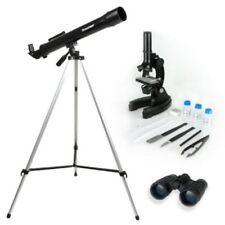 Celestron Telescope Microscope & Binocular Science Kit