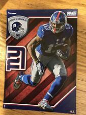 Odell Beckham Jr NFL Fathead Tradeables  New York Giants 5x7 Cleveland Browns